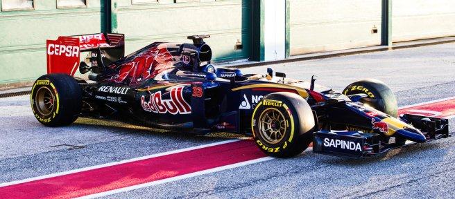 Se presenta en Jerez el nuevo Toro Rosso STR10