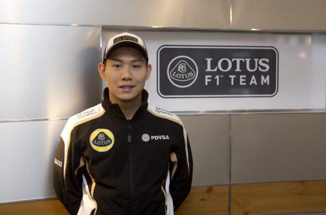 Adderly Fong, nuevo piloto de desarrollo de Lotus