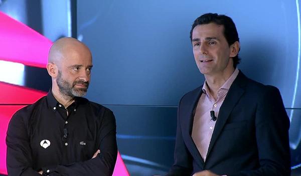 Anotnio Lobato y Pedro De la Rosa seguirán formando pareja en Antena 3
