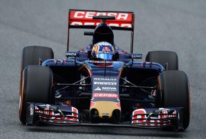 Excelente jornada hoy para Carlos Sáinz Jr. y su Toro Rosso