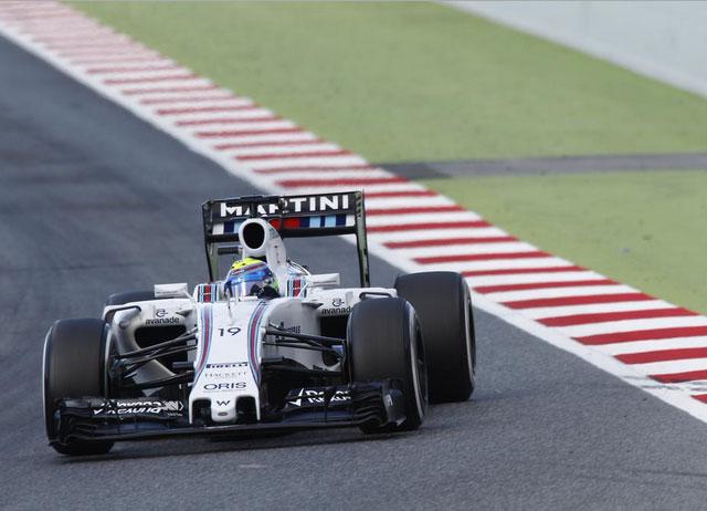 Felipe Massa, el segundo más rápido hoy en Montmeló