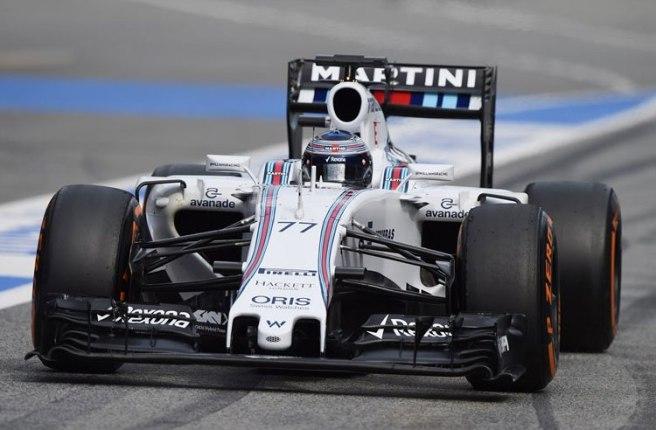 Gran día para Williams y Valtteri Bottas