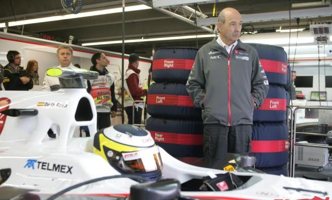 Pedro De la Rosa, sustityendo a Pérez en Sauber en Canadá 2011