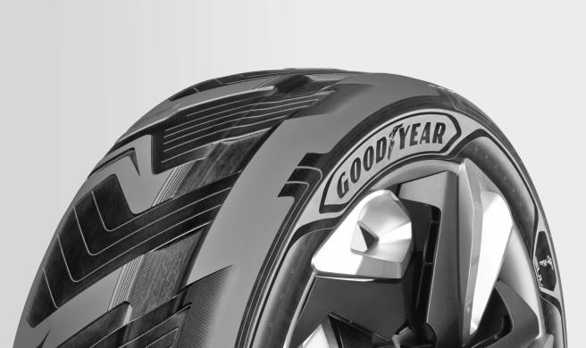 Goodyear presenta en Ginebra un neumático capaz de generar electricidad