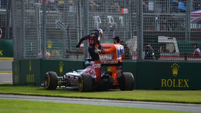 Max Verstappen se despidió del GP de Australia antes de tiempo