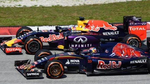 Los Toro Rosso han vuelto a superar a sus hermanos mayores de Red Bull