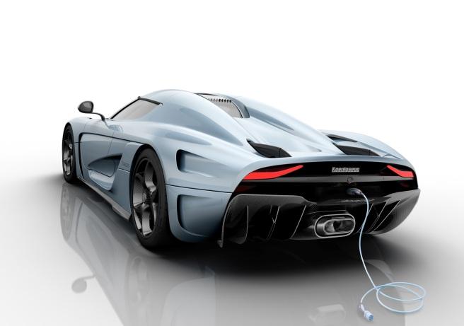 El Koenigsegg Regera cuenta con un exclusivo sistema de recarga