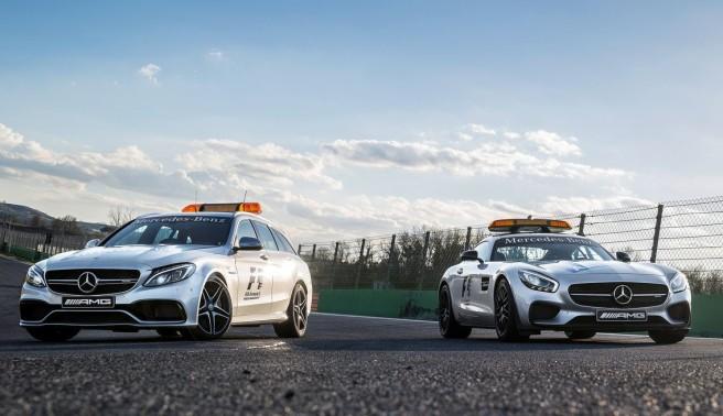 Mercedes C 63 S AMG Estate, el nuevo coche médico de la FIA