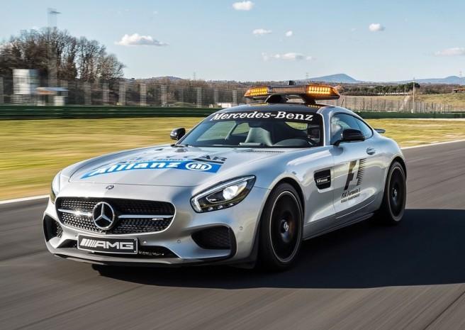 El Mercedes AMG GT-S nuevo Safety Car para la Fórmula 1 esta temporada