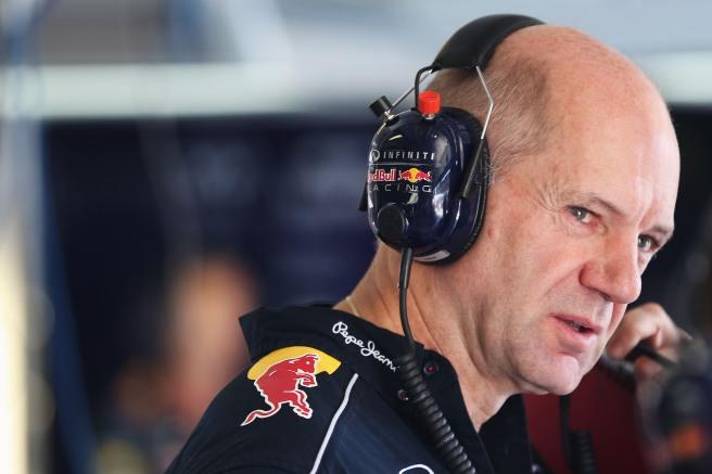 Adrian Newey no estará en el diseño del Red Bull RB12