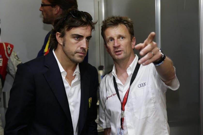 Allan McNish considera que a Fernando Alonso se le acaba el tiempo para ser campeón