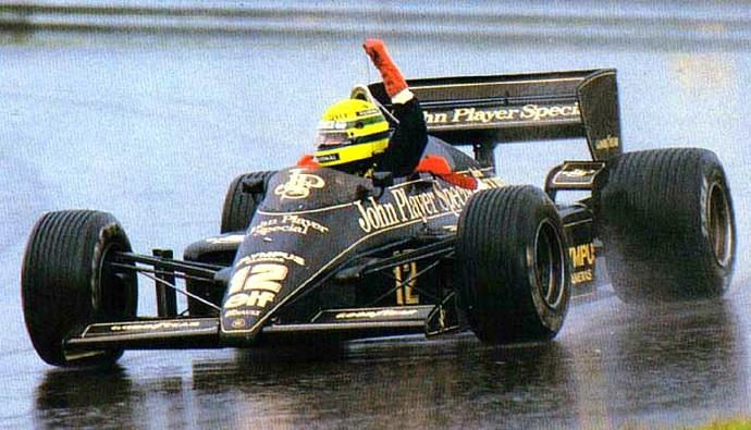 Se cumplen 30 años de la primera victoria de Ayrton Senna en un Gran Premio de F1