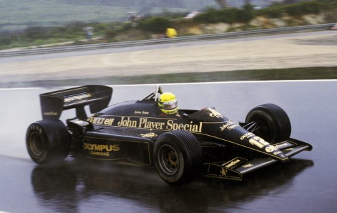 Ayrton Senna ganó el GP de Portugal de1985, la primera carrera de su vida