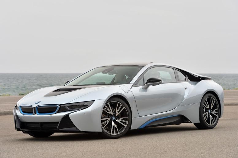 El BMW i8, premiado con un Wolrd Car Awards 2015 como Mejor Coche Verde