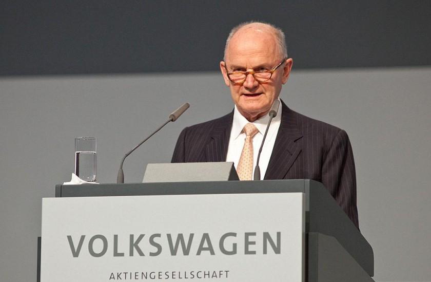 Ferdinand Piech dimite como presidente del Grupo Volkswagen