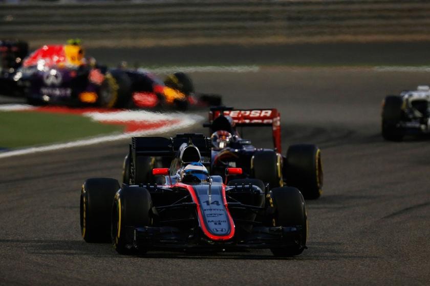 Fernando Alonso acarició la posibilidad de sumar sus primeros puntos con McLaren