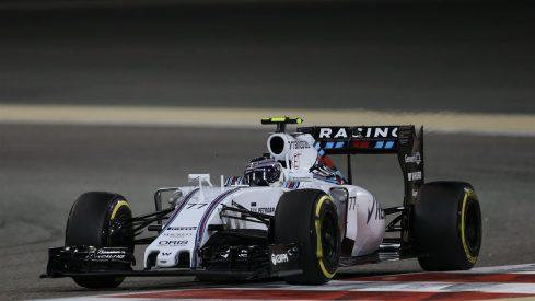 Valtteri Bottas logró defender su cuarta plaza ante el ataque de Vettel