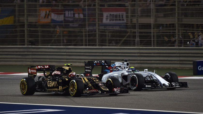 Mala suerte para Pastor Maldonado y Felipe Massa hoy en Sakhir