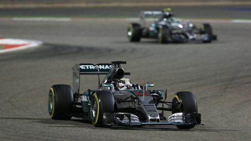 Lewis Hamilton volvió a batir a Nico Rosberg a todos los niveles