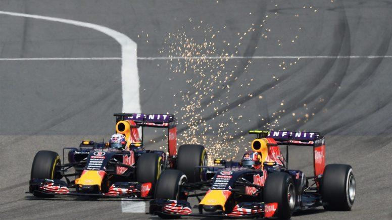 Jornada para olvidar para Red Bull la vivida hoy en China