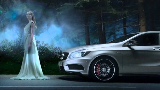 Mercedes, la marca de coches con más notoriedad publicitaria en 2014