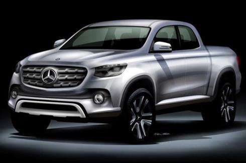 El futuro pick-up de Mercedes se construirá en Barcelona a partir de 2020