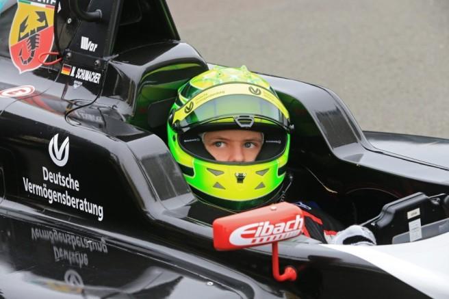 Mick Schumacher, viva imagen de su padre