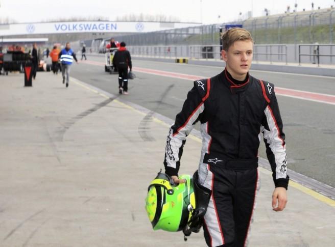 Mick Schumacher, el día de su debut en la Fórmula 4