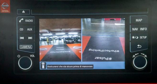 Nissan Pulsar Perfect Parking, para acabar con los golpes de aparcamiento