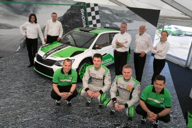 Skoda correrá con el nuevo R 5 en el WRC 2 y en otras competiciones