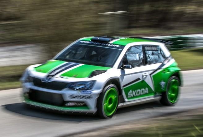 """El nuevo Skoda Fabia R 5, la gran """"esperanza blanca"""" del fabricante checo para el WRC 2"""