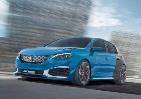 El nuevo Peugeot 308 R Hybrid, máxima deportividad en un compacto