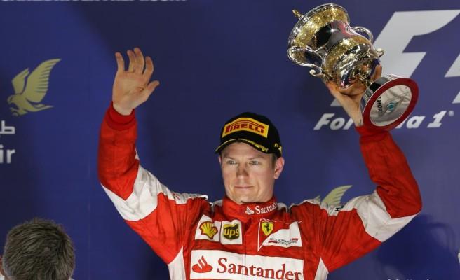 Kimi Raikkönen, de nuevo en el pódium el pasado GP de Bahrein