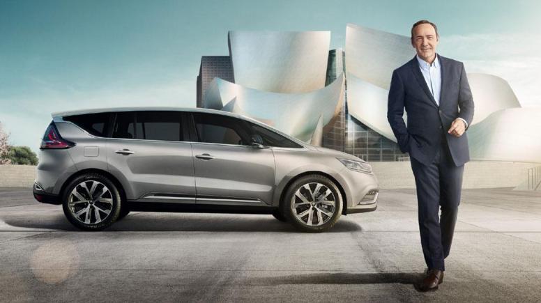 Kevin Spacey, embajador mundial del nuevo Renault Espace