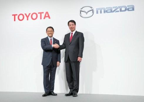 Mazda y Toyota firman un interesante acuerdo comercial estratégico