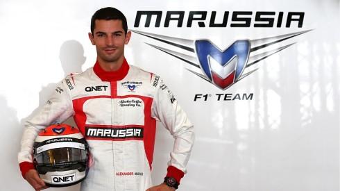 El norteamericano Alexander Rossi, el  mejor colocado para ocupar un volante en Haas