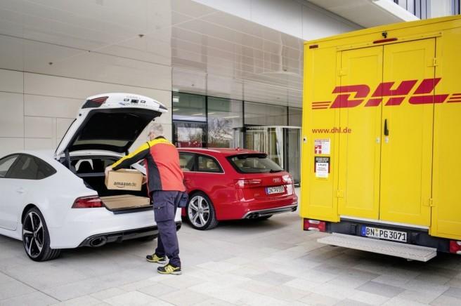 Audi, DHL y Amazon presentan