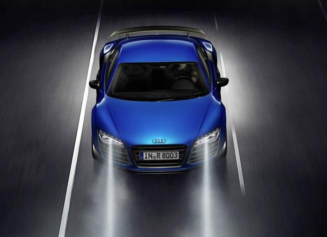 El Audi R8 LMX, primer vehículo en incorporar la tecnología Matrix Laser de iluminación