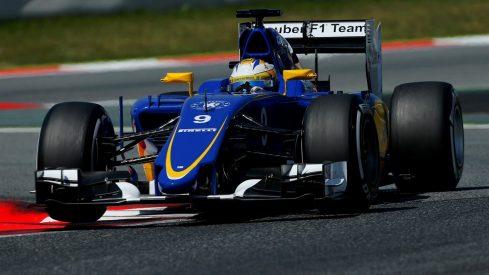 Marcus Ericsson sorprendió hoy marcando el segundo mejor registro del día
