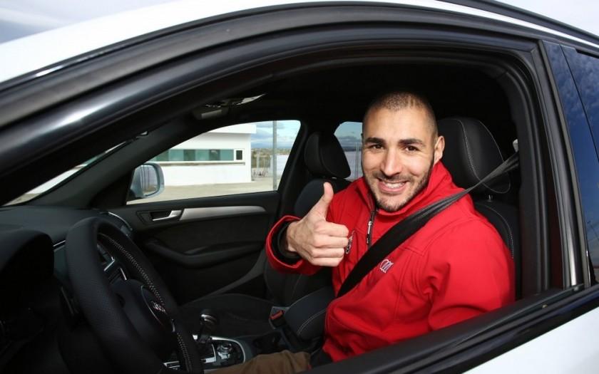 Karim Benzema, cazado sin carnet de conducir
