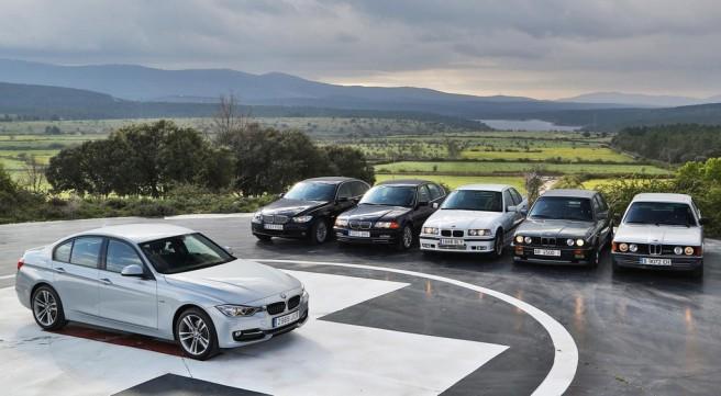 40 años de la Serie 3 de BMW
