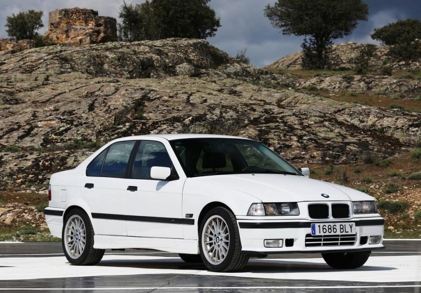 BMW Serie 3 E36, un cambio generacional importante