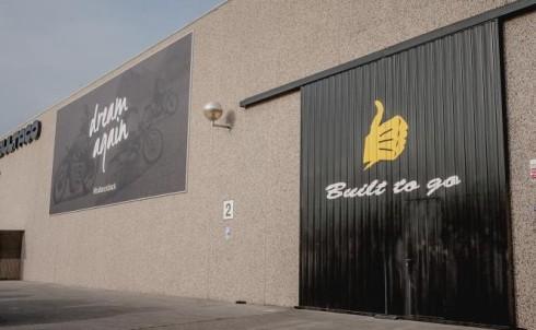 Factoría de Bultaco en Barcelona
