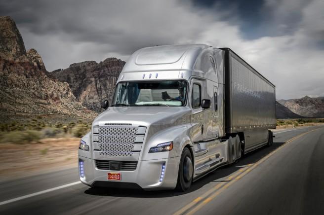 Freightiliner Inspiration, el primer camión autónomo homologado para rodar