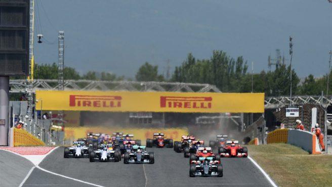 El arranque del GP de España se desarrolló limpio y sin problemas