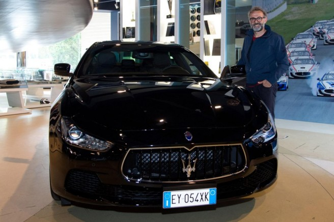 El chef italiano Massimo Bottura, nuevo Embajador Mundial de Maserati