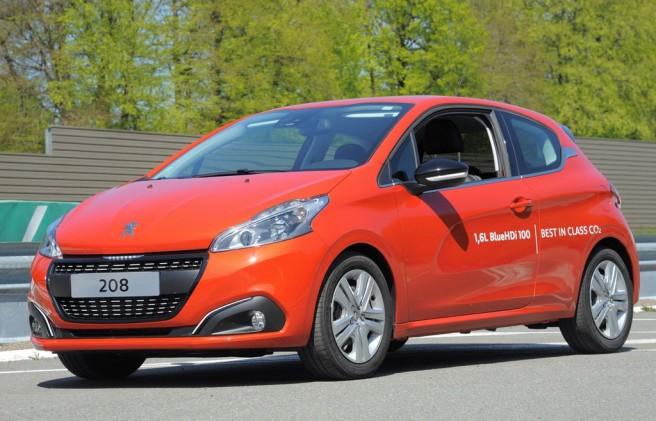 Peugeot 208, nuevo récord mundial de consumo