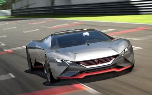 Peugeot Vision Gran Turismo, de la mesa de diseño a la consola