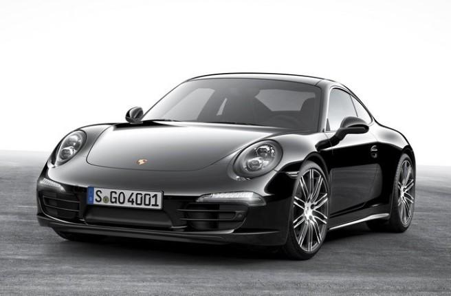 Nuevo Porsche 911 Carrera Black Edition, terciopelo negro