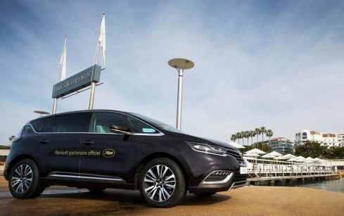 El nuevo Renault Espace, coche oficial del Festival de Cannes 2015